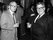 Francis B. Sargent, MD, and Richard P. McMahon, Esq., Past Chairman of the Board